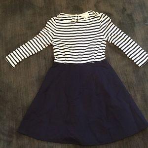 Kate Spade nautical jersey knit dress. Size 2